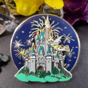 3/$35 Disney Cinderella Castle with Tinkerbell Pin